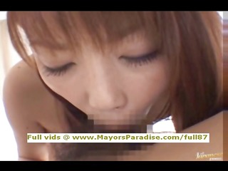 risa kasumi blameless oriental angel blowjobs and