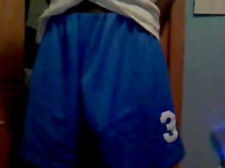 night blue basketball shorts