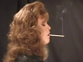 smokin leather tv perverted fetish play with toys
