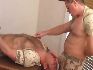 military daddy and soldier
