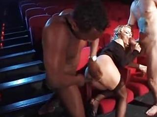 federica tommasi and luna in cinema by troc