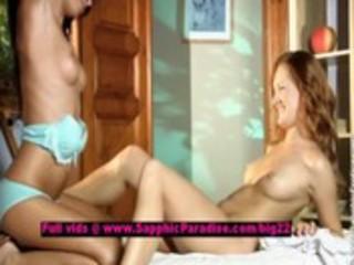 heaven and hailee enjoyable lesbo beauties licking