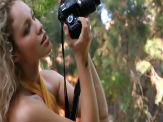 admirable golden-haired madonna photographer