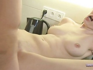 anal sex in the kitchen