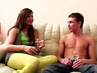 playgirl disrobes her boyfriend