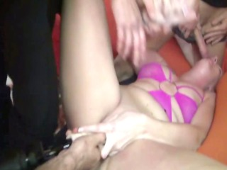 french housewife group-fucked
