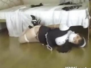 oriental maid bound up