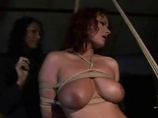 female-dom playing with hawt breasty villein hotty