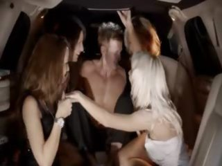 bizarre group intercourse in limo