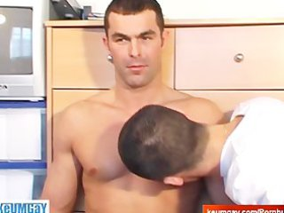 real str boy receive sucked by a homosexual lad
