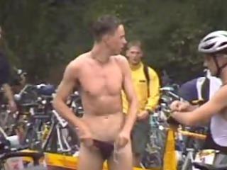 ironman changing hidden webcam triathletes