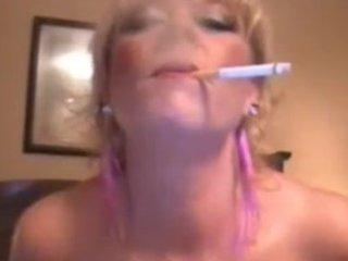 obscene talking smoker