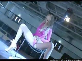 eline masturbation and lap dance in public