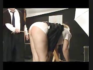 sadomasochism caning - six strokes