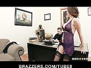 breasty brunette hair secretary kiera king