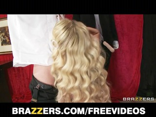 brazzers - big butt blonde is fucked rough