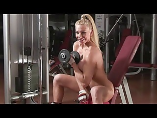 sexy large titted fitness golden-haired part9
