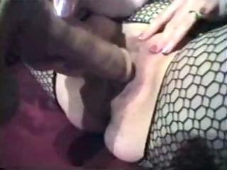 vibrator and nylons fetish movie