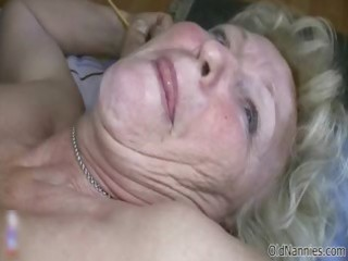 lustful old granny with biggest breasts likes