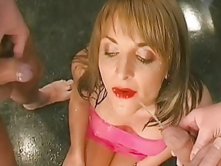 juicy orall-service with titty fuck