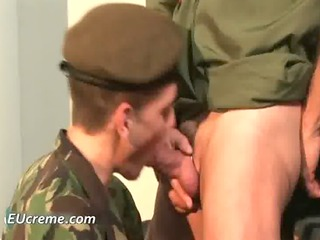drill sargent desire his wang sucked right