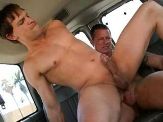 lascivious homosexual mate rides str hard tool in