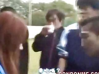 jap pornstar gives irrumation to school student