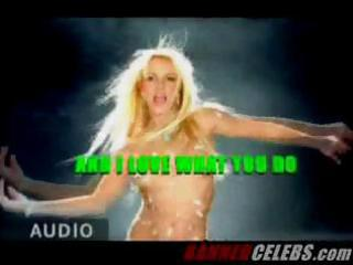 hawt britney exposes her hot body on camera