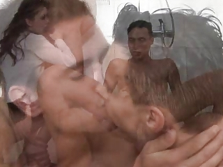 ambisexual shower party 11