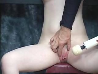boyfrend takes fake knob to youthful bondaged