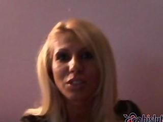 blond lesbo lickers aaralyn barra and clara begin