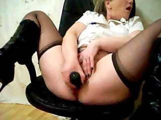 sexy bushy squirting older with marital-device