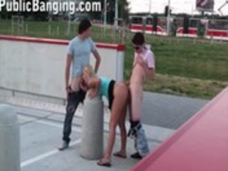 cute youthful legal age teenager angel in public