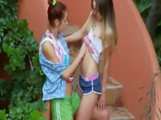 ivanas slaves of lesbian big o outside