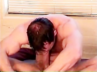 web camera muscle wang solo self-suck #9