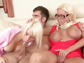stepmom nikita von james shares large dick