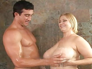 aged fucking breasty sluts in the shower
