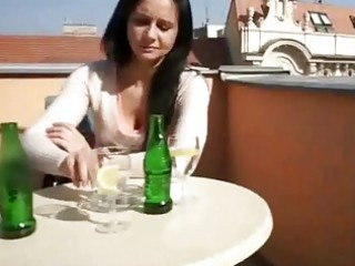 large milk shakes brunette hair euro angel ride
