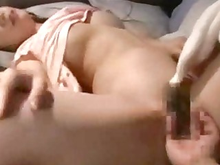 sexually excited wife drilled by ally and spouse