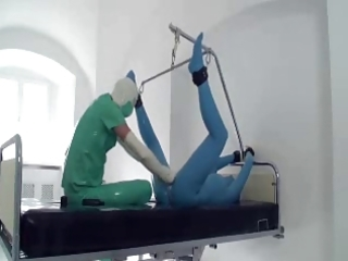 playing doctor in latex by snahbrandy