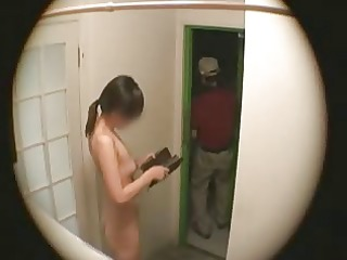 japanese wife flashing delivery chap 1