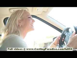 Chloe James and Cody Love amateur blonde lesbians