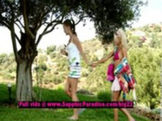 hailee and mya breathtaking lesbo legal age