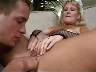 mature maid lynn ross copulates younger fellow