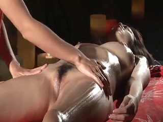 orgasmic erotic yoni massage with oil - nv