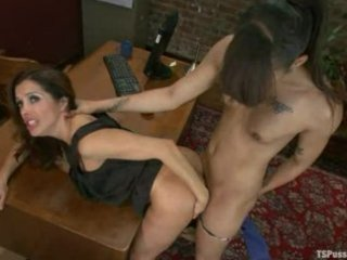 short shemale/female scene 8