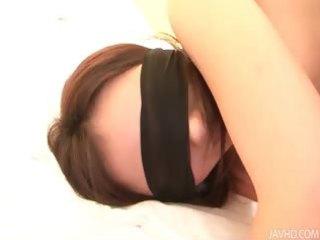 rui natsukawa blindfolded bent and licked