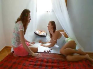 crazy russian lesbian love tunnel eating