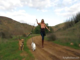 large titted mother i enjoys hiking stripped