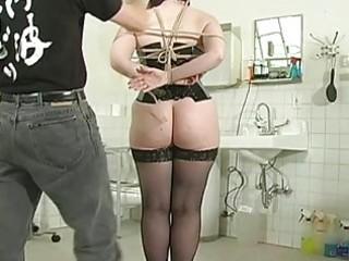 slaver tortures soaked slit